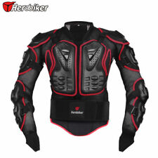 Motorcycle Motocross Body Armour Chest Shoulder Spine Guard Back Protector MX 01