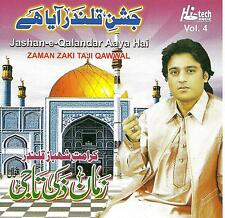 ZAMAN ZAKI TAJI QAWWAL / JASHAN -E- QALANDAR AAYA HAI VOL 4 - NEW QAWWALY CD