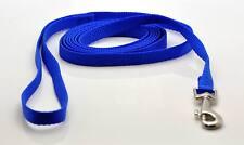 """NEW 6' Dog Nylon Leash Lead Blue X-Small 3/8"""" W"""