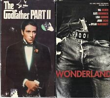 The Godfather Part II & Wonderland -2 Crime VHS Tapes