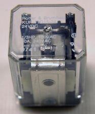 KUP-11D15-24 24VDC 10A 240VAC 1/3 HP 120VAC (K-1-7-6-A-45)