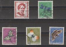 v2735 Schweiz / Pro Juventute-Schmetterlinge   MiNr 561/65 o