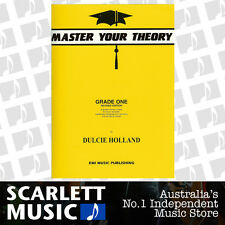 Master Your Theory - Grade 1 / One Revised Edition - Dulcie Holland *BRAND NEW*