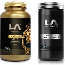 LA Muscle Norateen Combo - For increased muscle size, strength and motivation