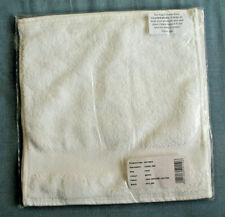 Dip and Doze, The Face Towels, Pack of 4,100% Organic Cotton - White - New