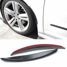 "Pair 13"" Black Add on Bumper Diffuser Quarter Panel Fender Flares Lip For Acura"