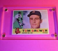 1960 Topps #439 Tom Brewer Boston Red Sox WB VgEx