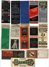 New Listing11 Chicago And 2 Other Vintage Illinois Matchbook Covers, Dog Food, Country Club