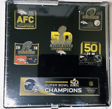 Super Bowl 50  5-Pin Set by PSG
