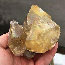 Huge Herkimer Diamond Golden Healer Cluster - Genuine from Upstate NY, USA