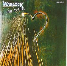 CD - Warlock  - True As Steel - A 674