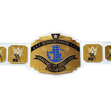 WWE Intercontinental Heavyweight Wrestling Championship Belt White color