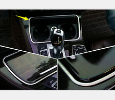 For BMW 5 Series F10 Water Cup Frame Cover Trim Decoration Stainless 2011-2014