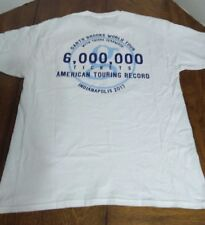 Garth Brooks 6 Million Tickets Sold American Touring Record T shirt Indy 2017 L