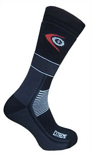 Trekking Extreme Socks Cold Winter Warm Thick Hiking Endurance Outdoor Black
