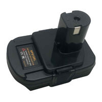 Battery Adapter w/h USB for Black&Decker Stanley Porter to RYOBI 18V  Power Tool