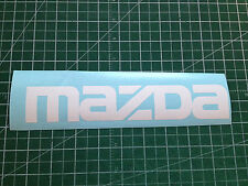"MAZDA 9""x1.60"" Decals Sticker Logo Emblem Car Window Bumper Door JDM Vinyl"