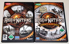 Rise of Nations & Espansione Thrones & Patriots GOLD EDITION PC CD ROM