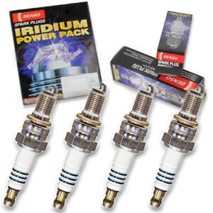 4 pc Denso Iridium Power Spark Plug for Honda CBR600F F3 1995-1998 Tune Up kc