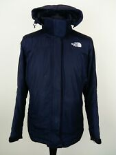 North Face Womens Black Summit Series Hooded Coat Jacket Size Large - Grade B