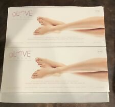 Set Of 2 Glove Treat Therapeutic Foot Treatment With Parasilk Paraffin New