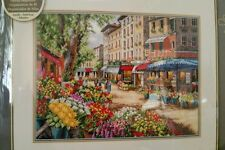 Dimensions THE GOLD COLLECTION Counted Cross Stitch Kit 'PARIS MARKET' - NIP