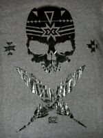 ECKO UNLTD - SKULL GRAPHIC - MEDIUM - GRAY T-SHIRT- B1774