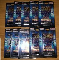 YUGIOH Toon Chaos Blister Pack Sealed 1st Edition Lot (10)