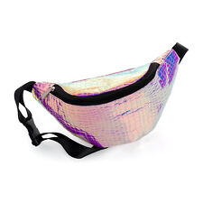 Pink Snake Pattern Bum Bag Festival Fanny Pack Bum Bag Money Pouch Belt