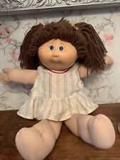 Vintage Cabbage Patch Kids Doll 1984 Coleco Brown Hair Blue Eyes PA-1044