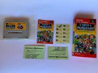 Super Mario Kart Super Famicom  SNES Nintendo Japan Box Manual CIB Japan