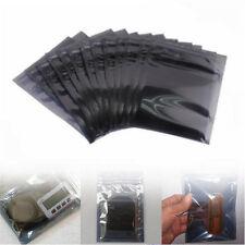 10/30Pcs ESD Anti-Static Shielding Zip Lock Storage Self Seal Antistatic Bags