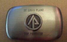 St.Louis Plant Top Producer Belt Buckle