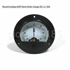Us Stock Dc 10a 10a Analog Amp Current Pointer Needle Panel Meter Ammeter