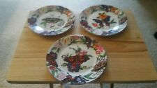 Ceramic butterfly collector's plates 3
