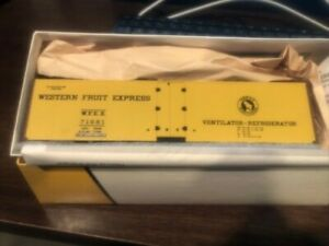 Pacific Rail Shops No.2315.5Steel Ice Reefer Western Fruit Express# 71681