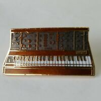 Player Piano Lapel Hat Jacket Pin Vintage Enamel Music