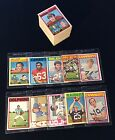 Partial Set w/ Stars - 1972 TOPPS FOOTBALL LOT 137 OF 263 LOW#s *MIXED COND* EX+