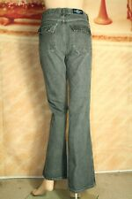 Just USA jeans bootcut mid rise flap pocket charcoal gray size 7
