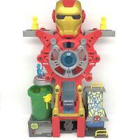 Super Hero Adventures Playskool Heroes Marvel Iron Man Headquarters NO Figures