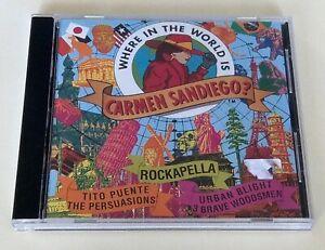 Where in the World is Camen Sandiego? CD soundtrack Rockapella Tito Puente