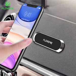 FLOVEME Universal Mini Strip Car Phone Holder Magnetic Dashboard Mount Stand