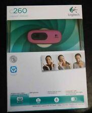Logitech C260 Webcam - Pink