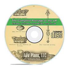 The Complete Peerage of England, Scotland, Ireland, UK 17 Volumes on CD V84