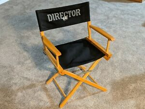 Extremely RARE Hollywood Video Director's Chair - Excellent Condition!