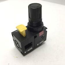 "Watts R35-02CG Pneumatic Regulator W/SV35-02 Lockout Shutoff Valve 1/4""NPT Ports"