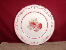 Waverly Garden Room Dinnerware Vintage Rose Pattern Dinner Plate 11""