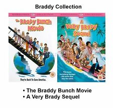 BRADY BUNCH MOVIE DOUBLE COLLECTION PART 1 2 BRAND NEW & SEALED UK REGION 2 DVD