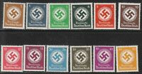 Stamp Selection Germany Official WWII Fascism War Era Selection MNH