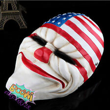 Heist Dallas Mask Cosplay Props Halloween Party Game Payday 2 Collect Doll Gifts